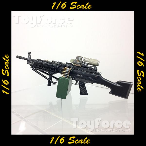 【04552】 1/6 ジャンク ライトマシンガン 武器