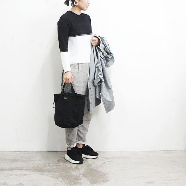 NAPRON ナプロン リップストップペイシェントバッグ BLACK ブラック メンズ レディース バッグ 巾着 トート 春 夏 秋 冬 通販 (品番np-ot09)