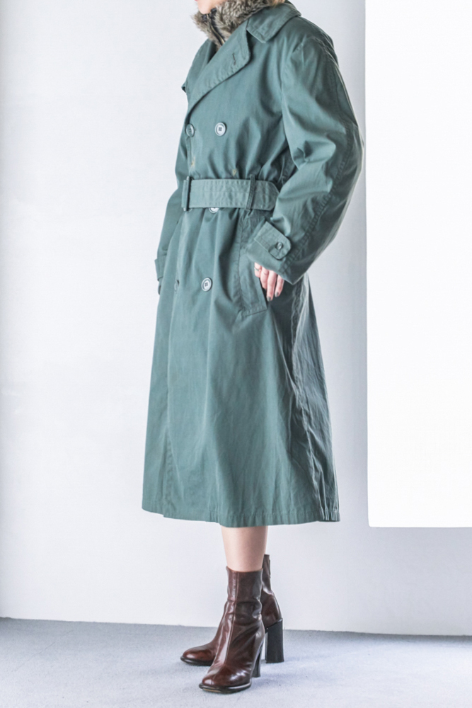 US Milirtary Trench Coat (Olive)