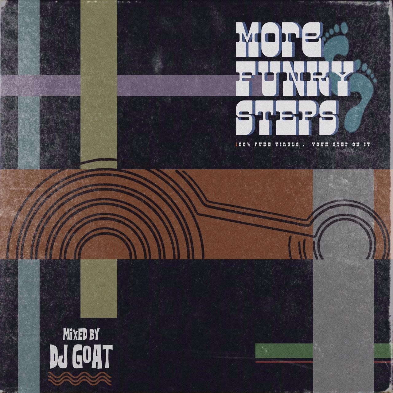 [MIX CD] DJ GOAT / MORE FUNKY STEPS