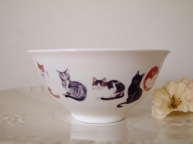 ★チャリティー 猫のお茶碗  ※保護猫活動に寄付させて頂きます
