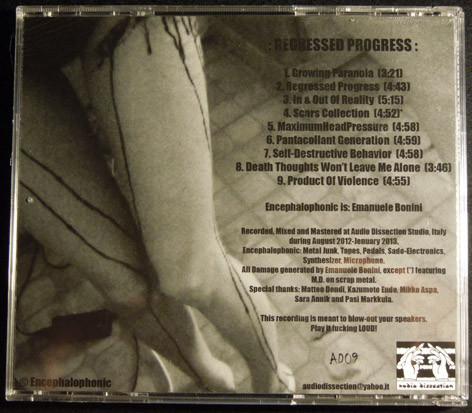 Encephalophonic - Regressed Progress  CD - 画像2