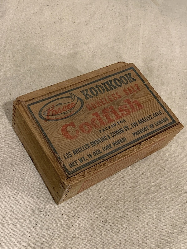 "FISH BOX "" KODIKOOK "" #2"