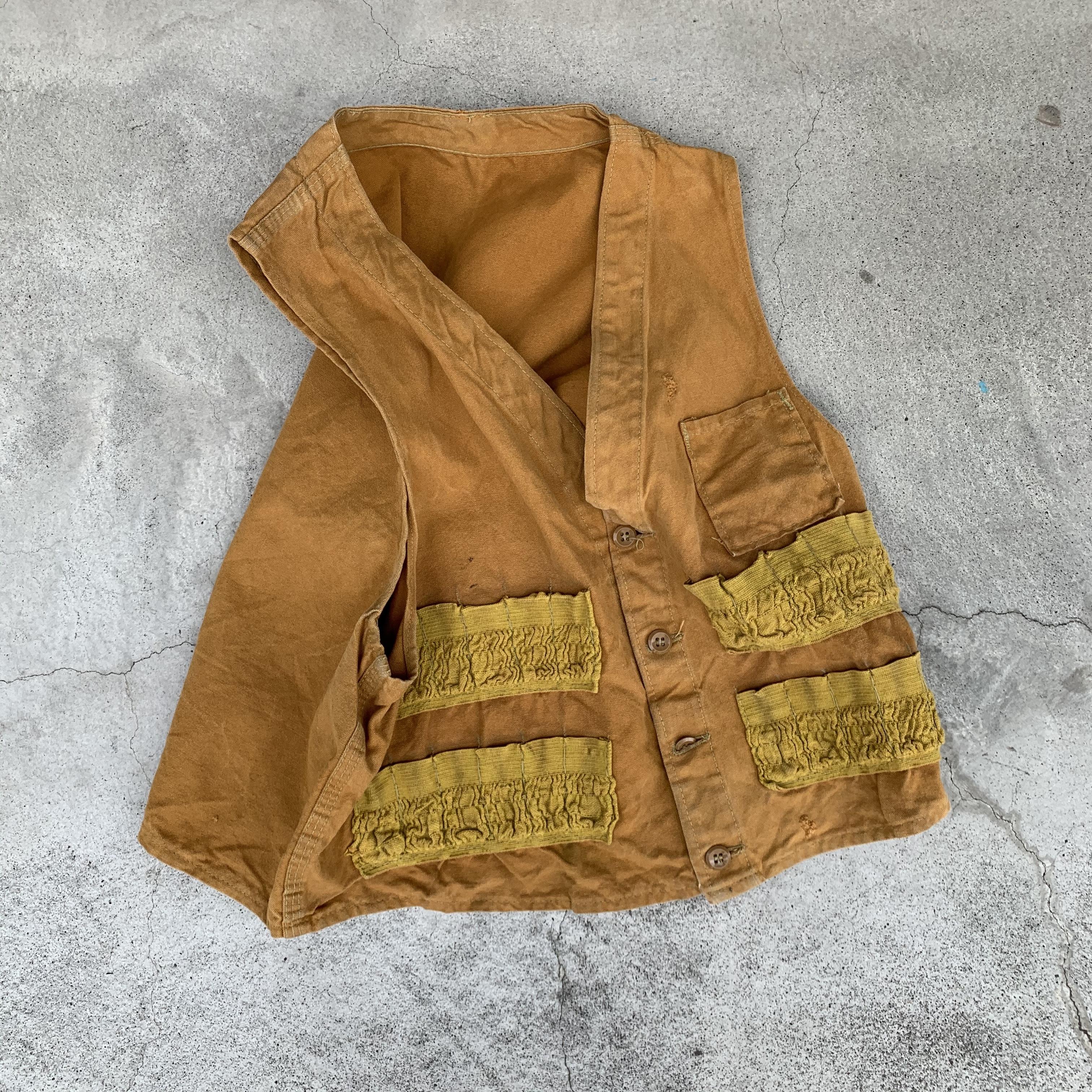 60's~70's vintage hunting vest