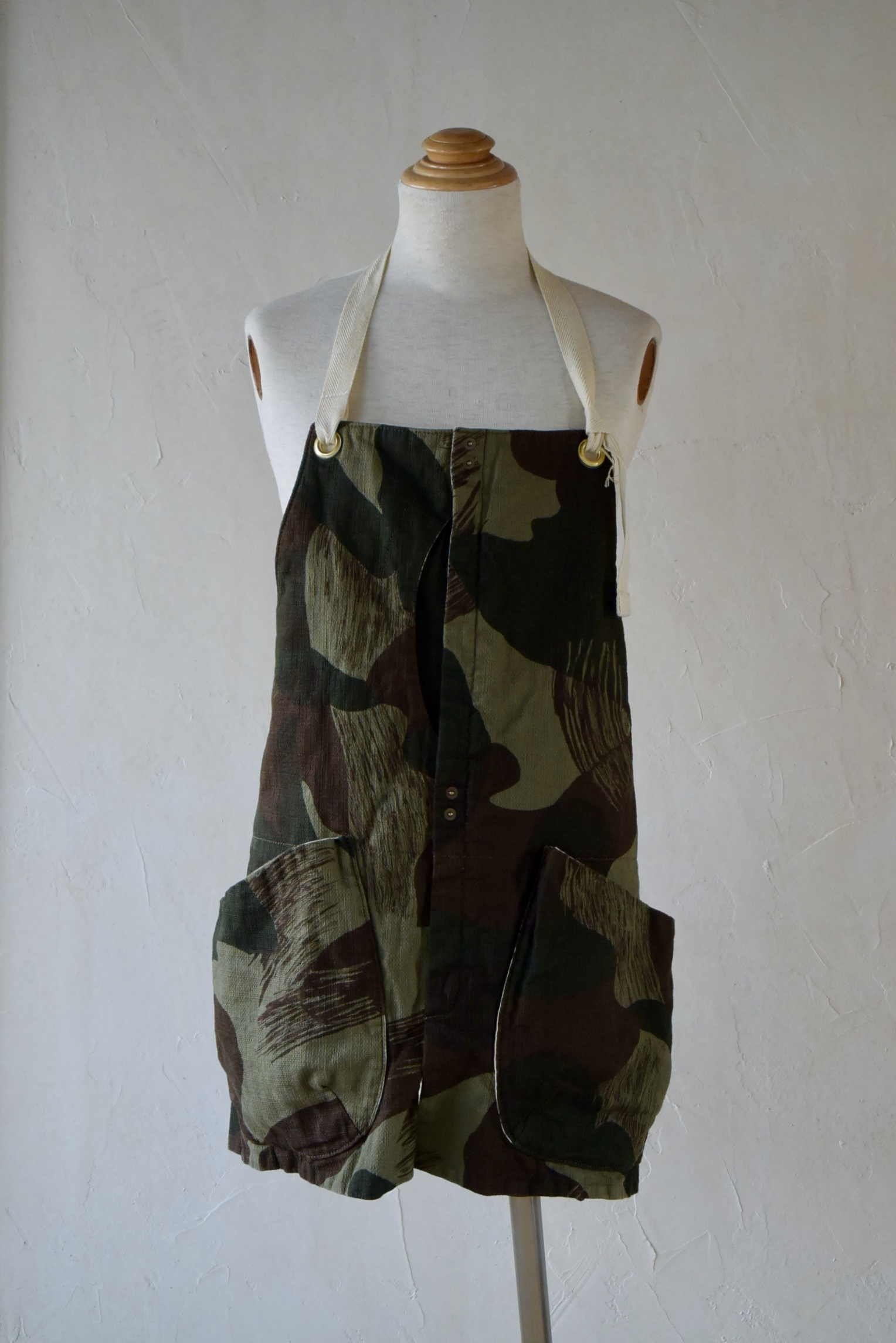 suolo GRIZZLY apron グリーンカモ