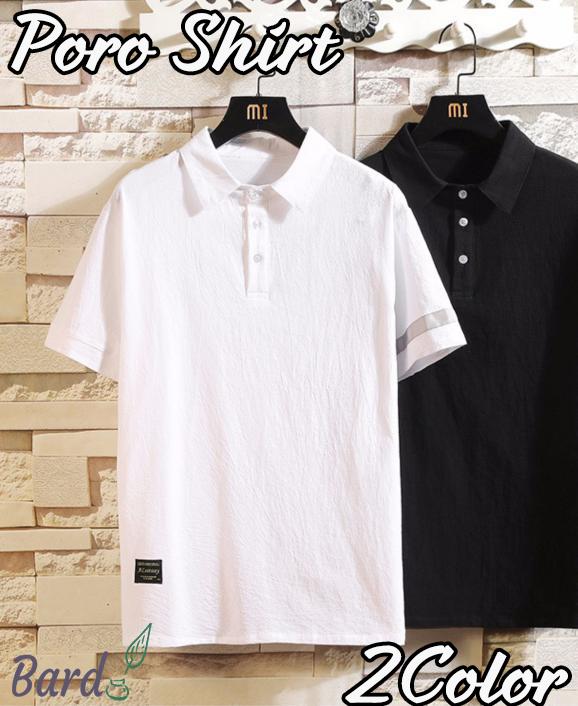 Poloシャツ ポロシャツ 夏服 カジュアル おしゃれ 涼しい メンズポロシャツ お兄系 トップス 夏 メンズ 半袖