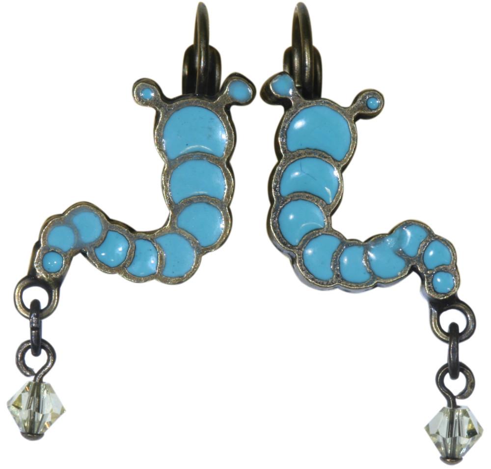 Ene-Mene-Muh earring eurowire dangling ピアス148