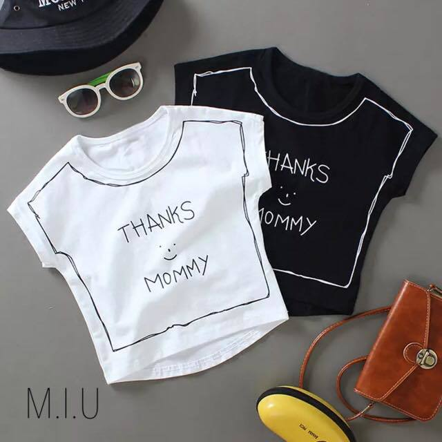 THANKS MOMMY Tシャツ #MIU531
