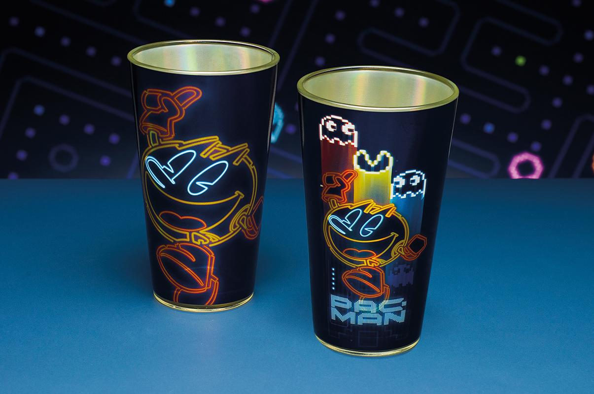 PAC-MAN GLASS(パックマン ネオンライトデザイン グラス) / Paladone