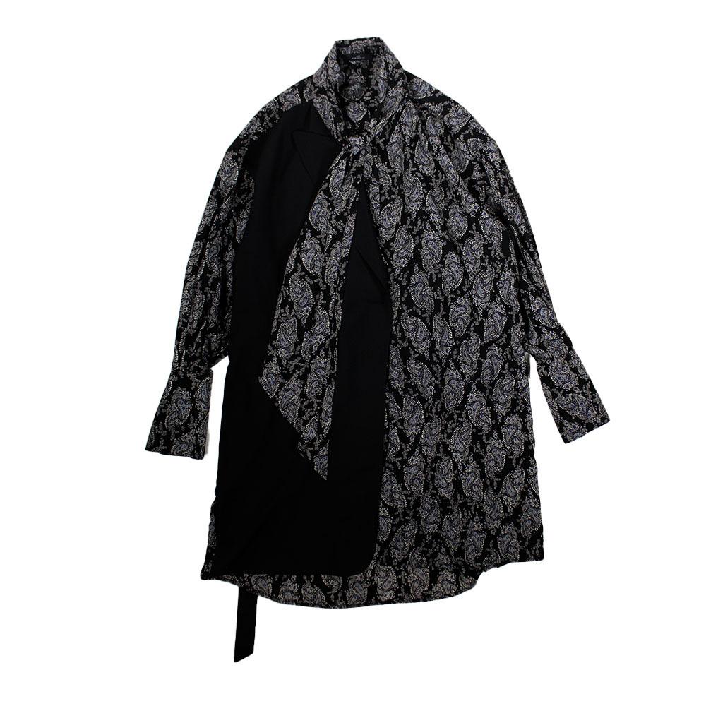 J KOO Jacket Detailed Dress