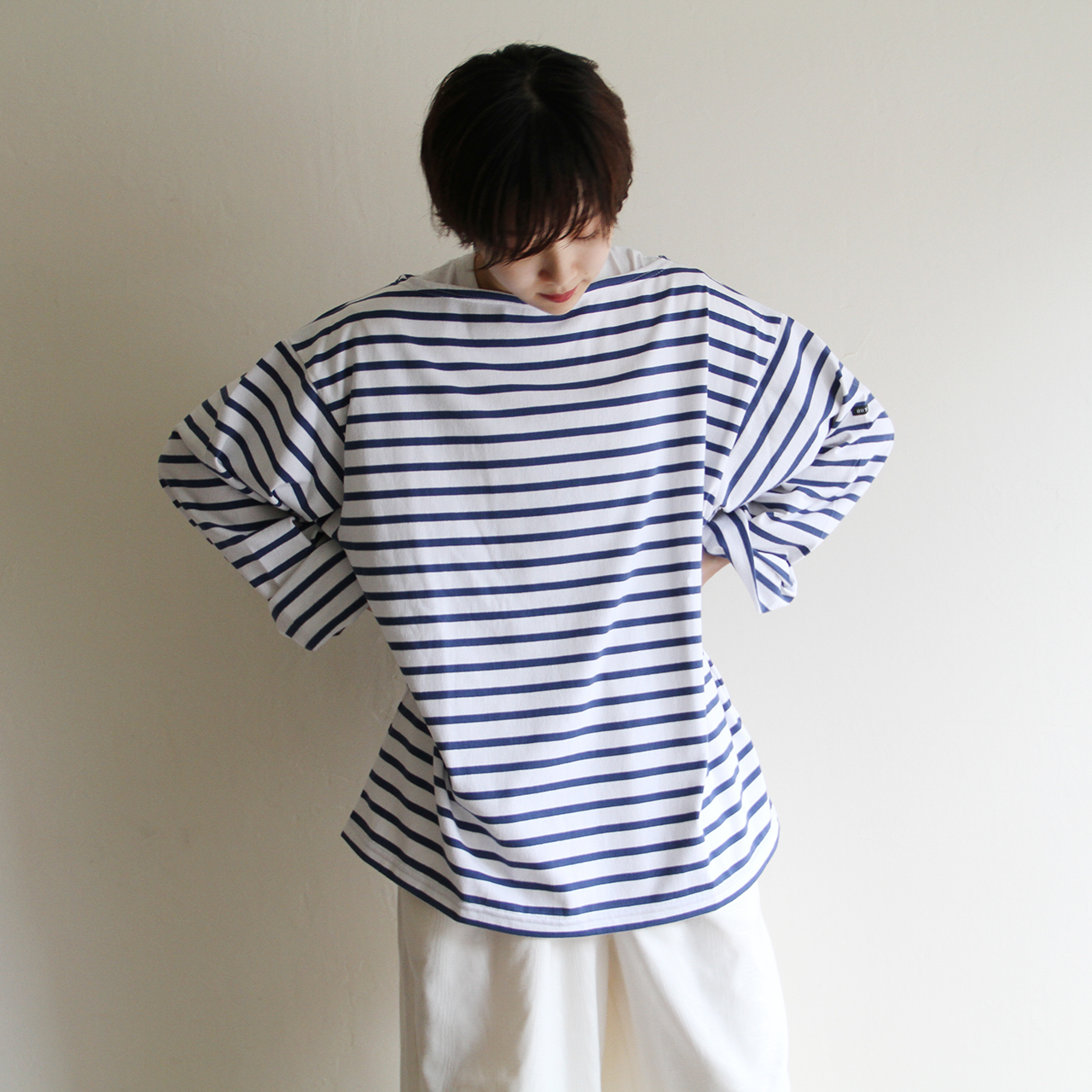 OUTIL【 unisex 】tricot aast  rayures