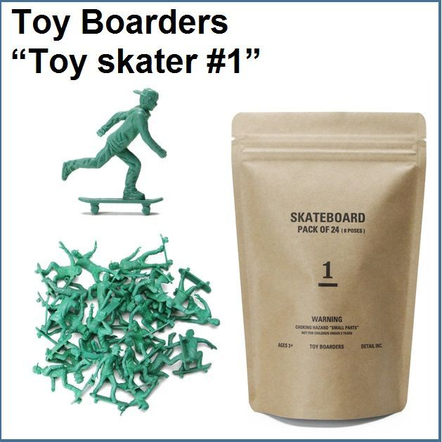 """Toy Boarders """"Toy skater #1"""""""