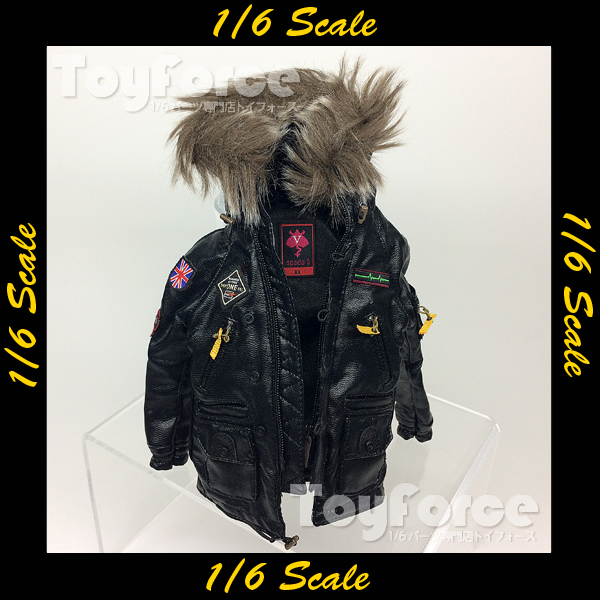 【03468】 DAMToys ギャングスターズ GK7 レザーコート 衣類