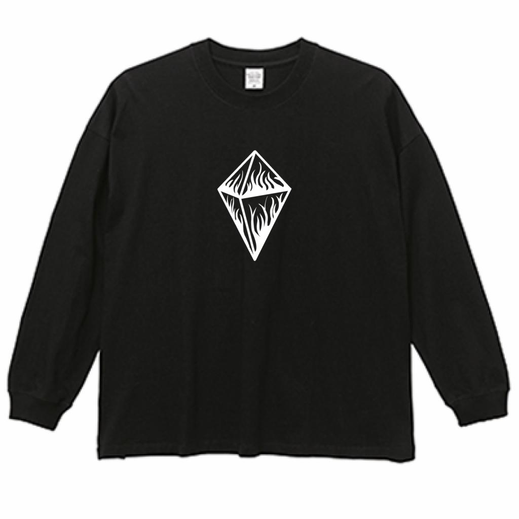Diamond Hush big L/S T