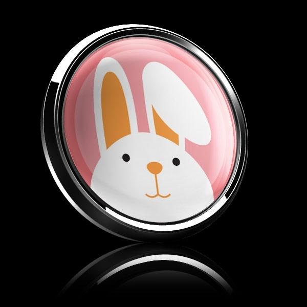 ゴーバッジ(ドーム)(CD0918 - Seasonal EASTER BUNNY) - 画像4
