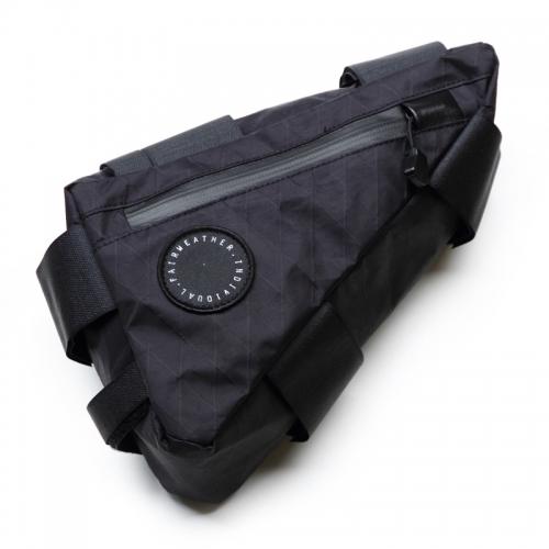 FAIRWEATHER  corner bag X-pac(ブラック)フェアウェザー コーナーバッグ