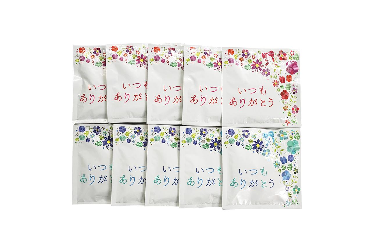 【レターパック送料込】『ありがとう』テ・マニスティーバッグ(2g×3P) 10袋セット