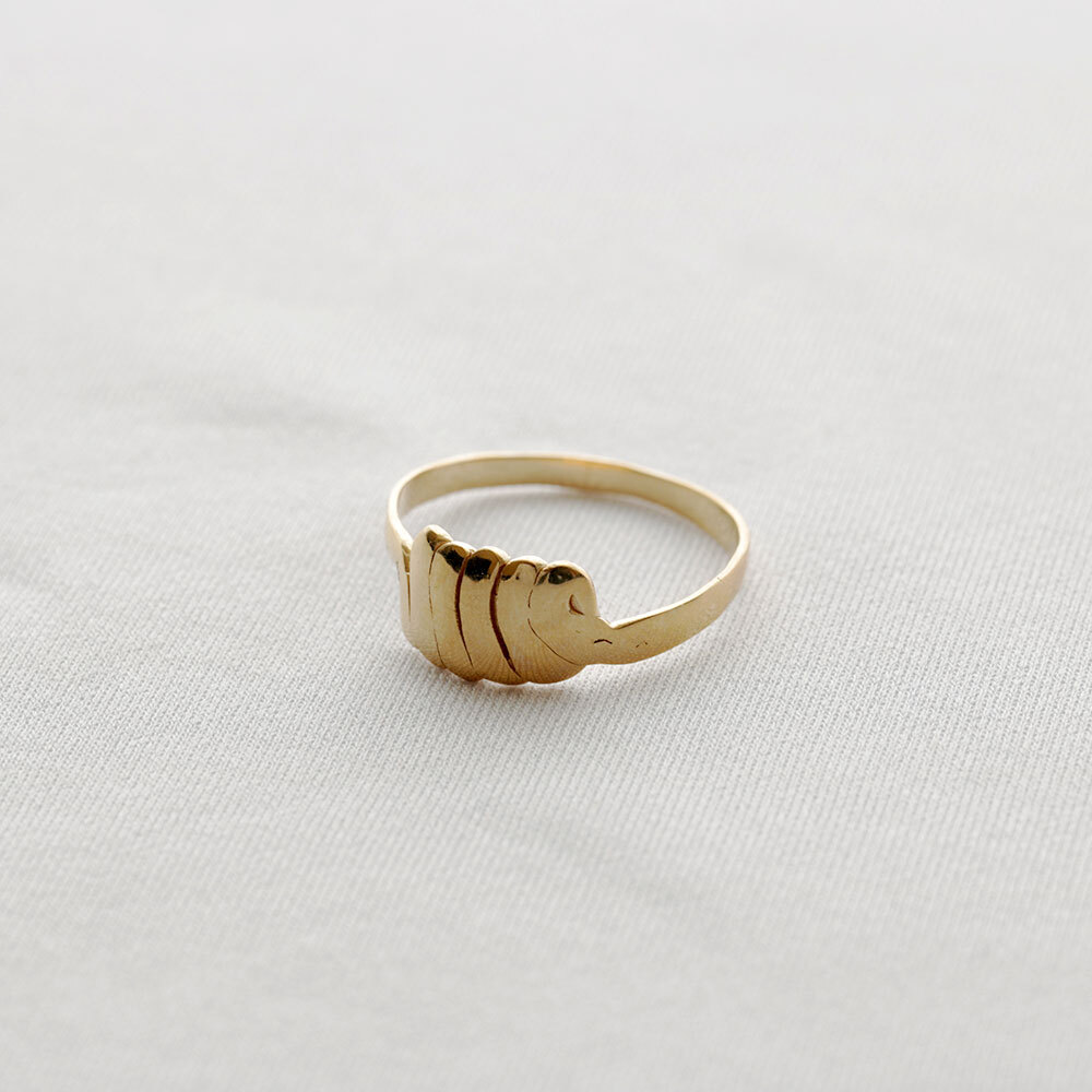 moments / ring - S (gold)