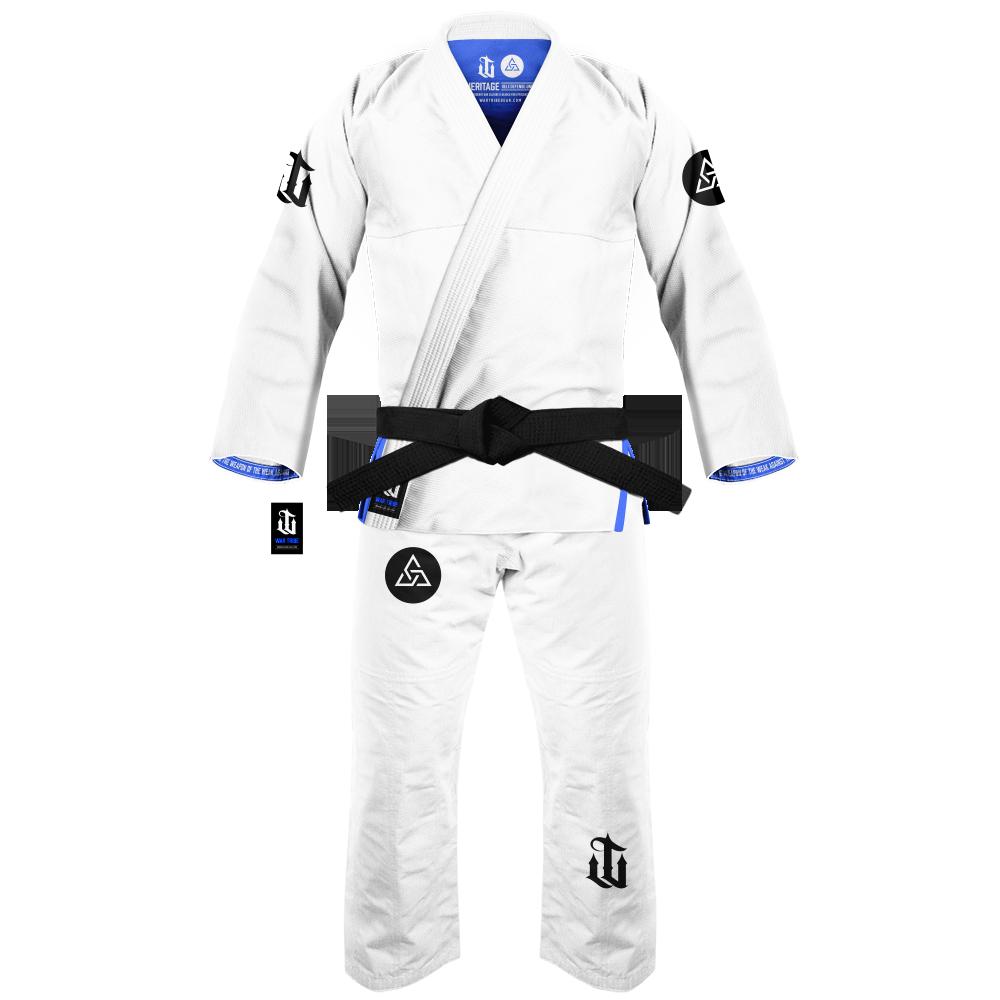 WAR TRIBE GEAR S.D.U. HERITAGE GI ホワイト|ブラジリアン柔術衣