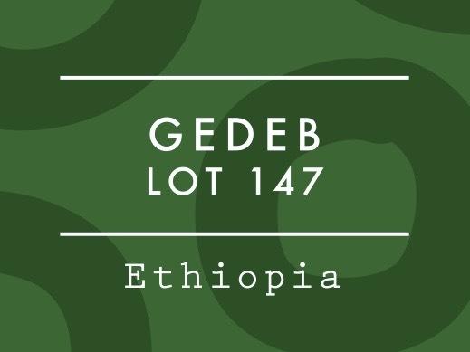 【100g】エチオピア / GEDEB LOT 147