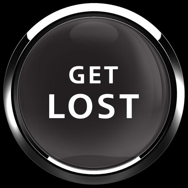 ゴーバッジ(ドーム)(CD1081 - GET LOST) - 画像1