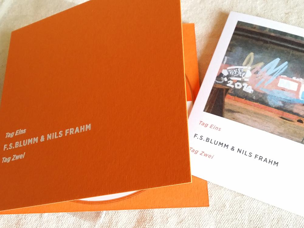 F.S.Blumm & Nils Frahm「Tag Eins Tag Zwei [2nd edition] 」(Sonic Pieces)