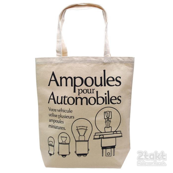 2takt Tote bag/Ampoules pour Automobiles