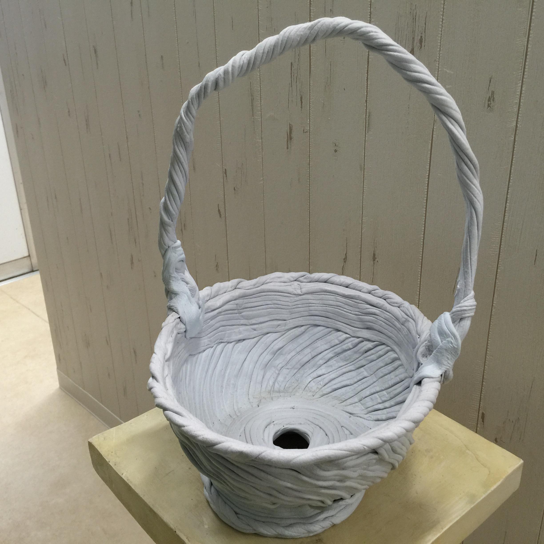 綱木紋バスケットくらま深型 - 画像2
