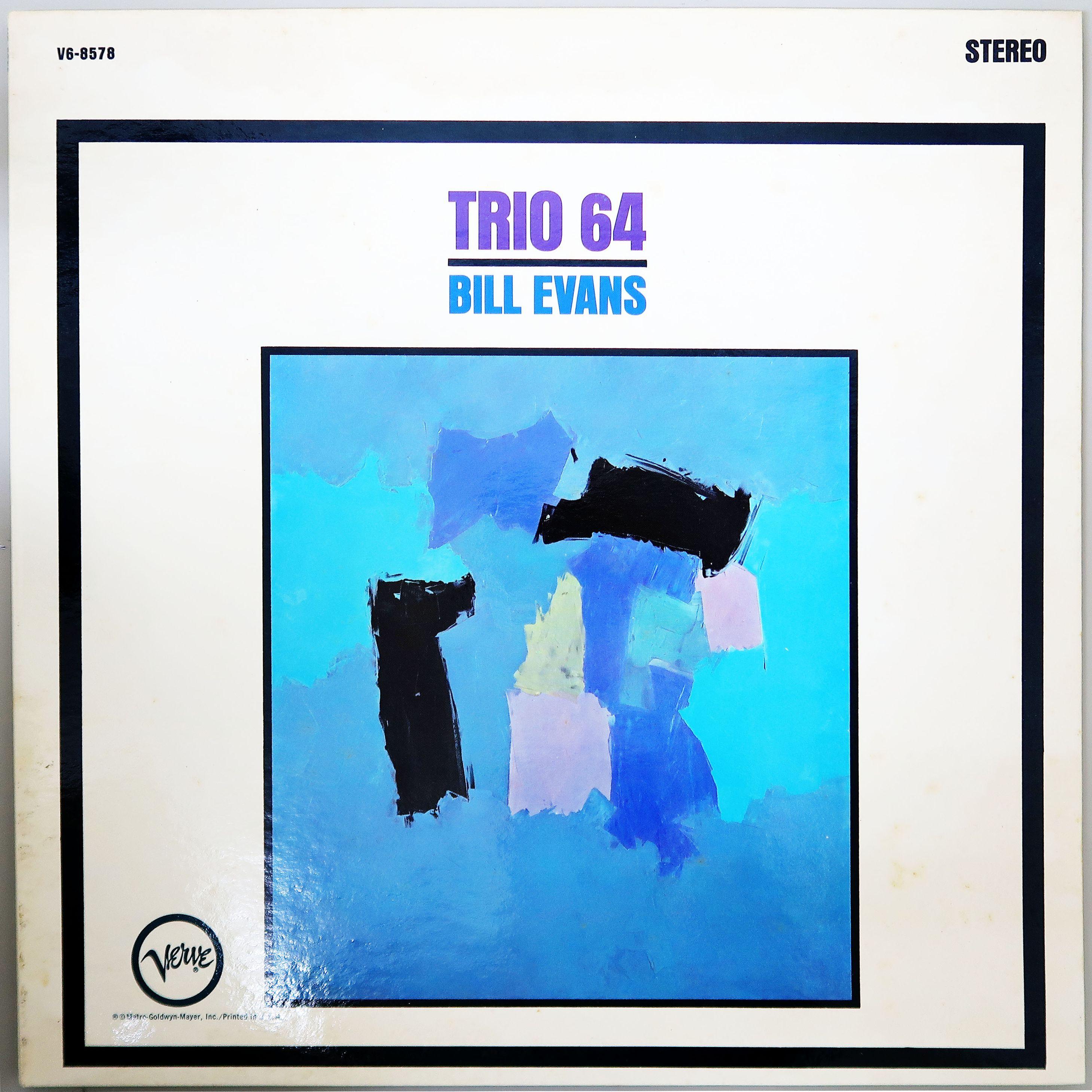 BILL EVANS / TRIO '64 米オリジナル