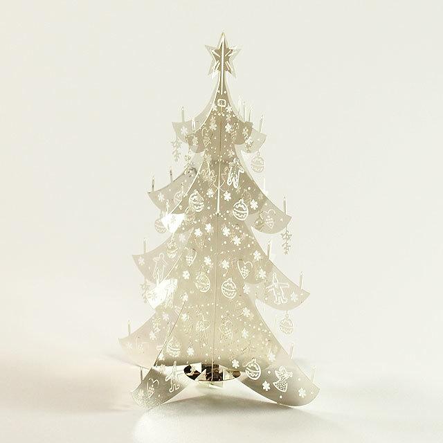 Pluto produkter テーブル・クリスマスツリー ミニ シルバー