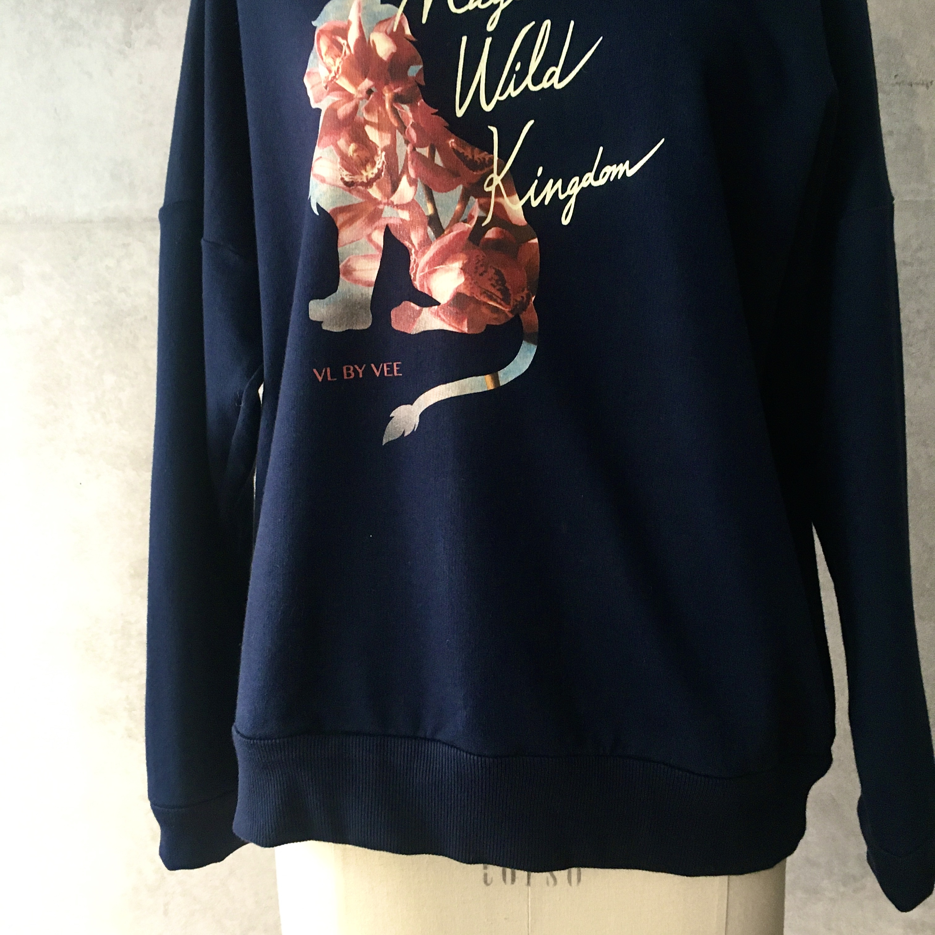 VL BY VEE Magic Wild Kingdom Oversized Sweatshirt