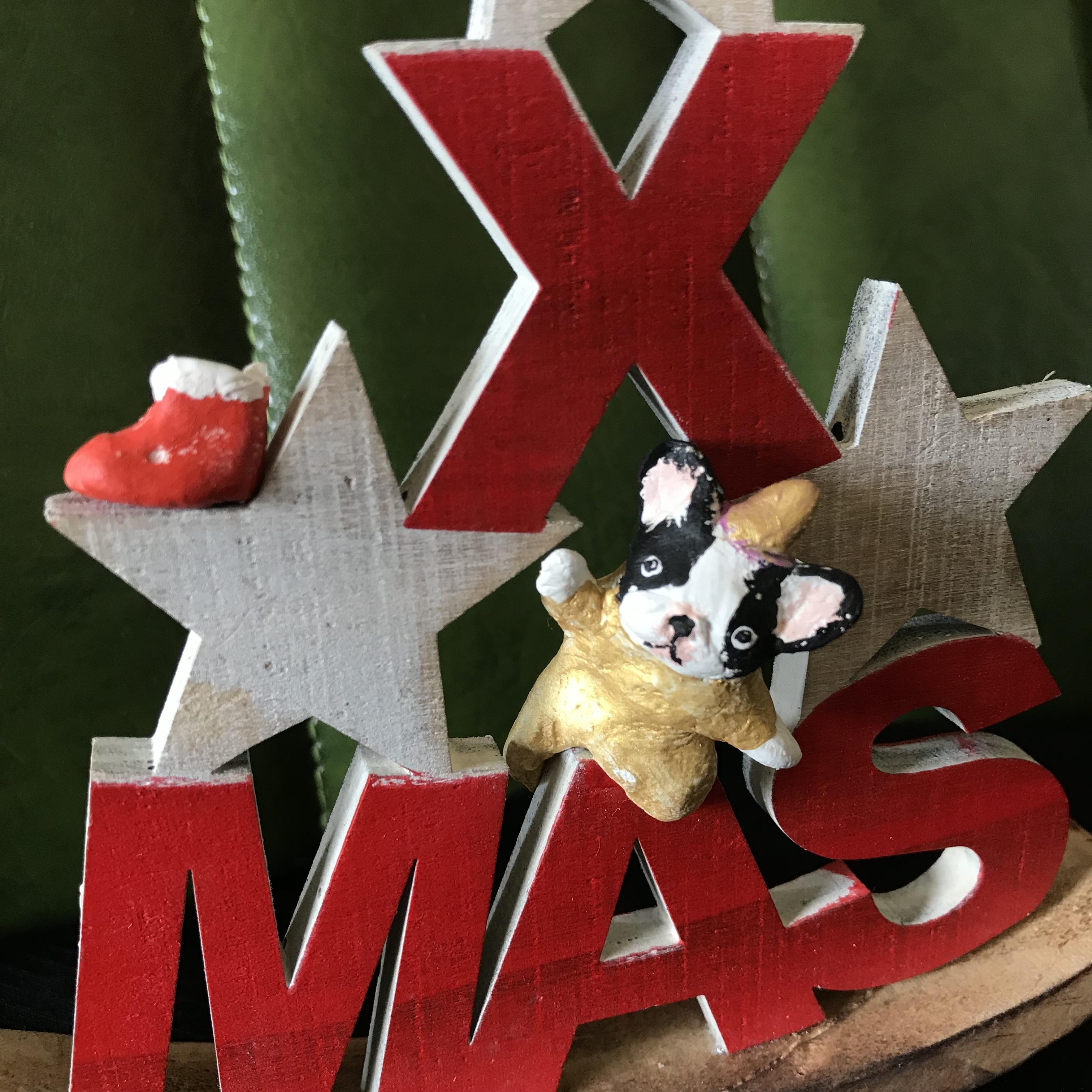 プレゼント入ってる?三角Xmas(赤)パイド