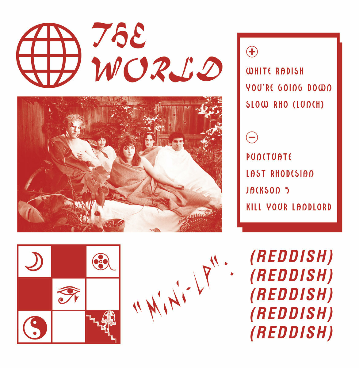 The World - Reddish (LP)