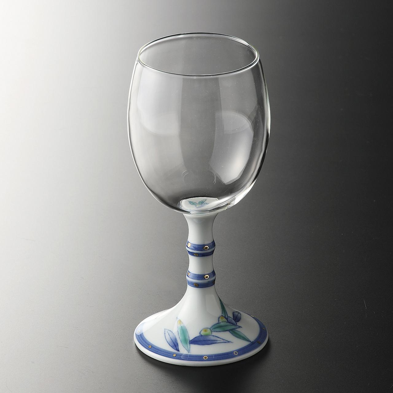 ワイングラス (オリーブ) 20-203