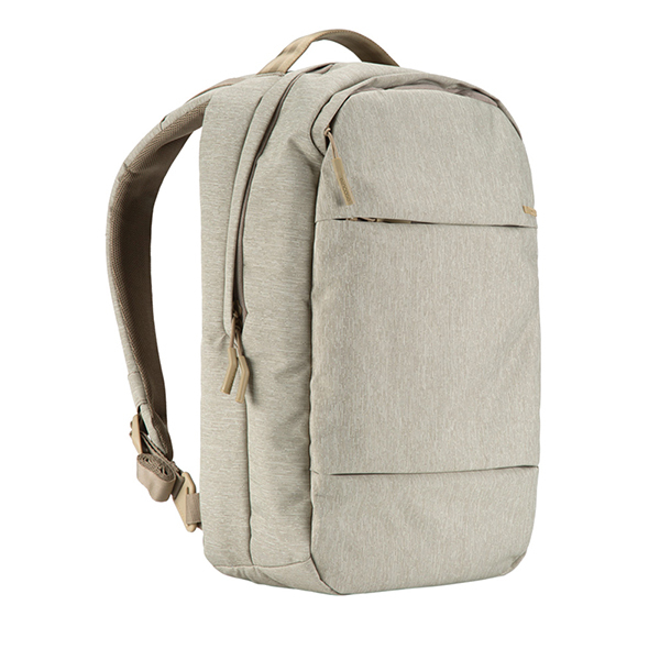 INCASE City Collection Compact Backpack - Heather Khaki