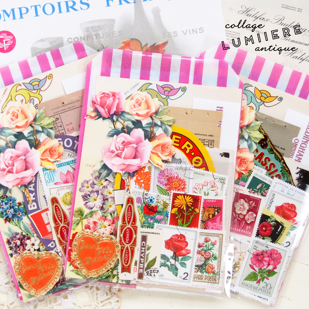 flower paper set b