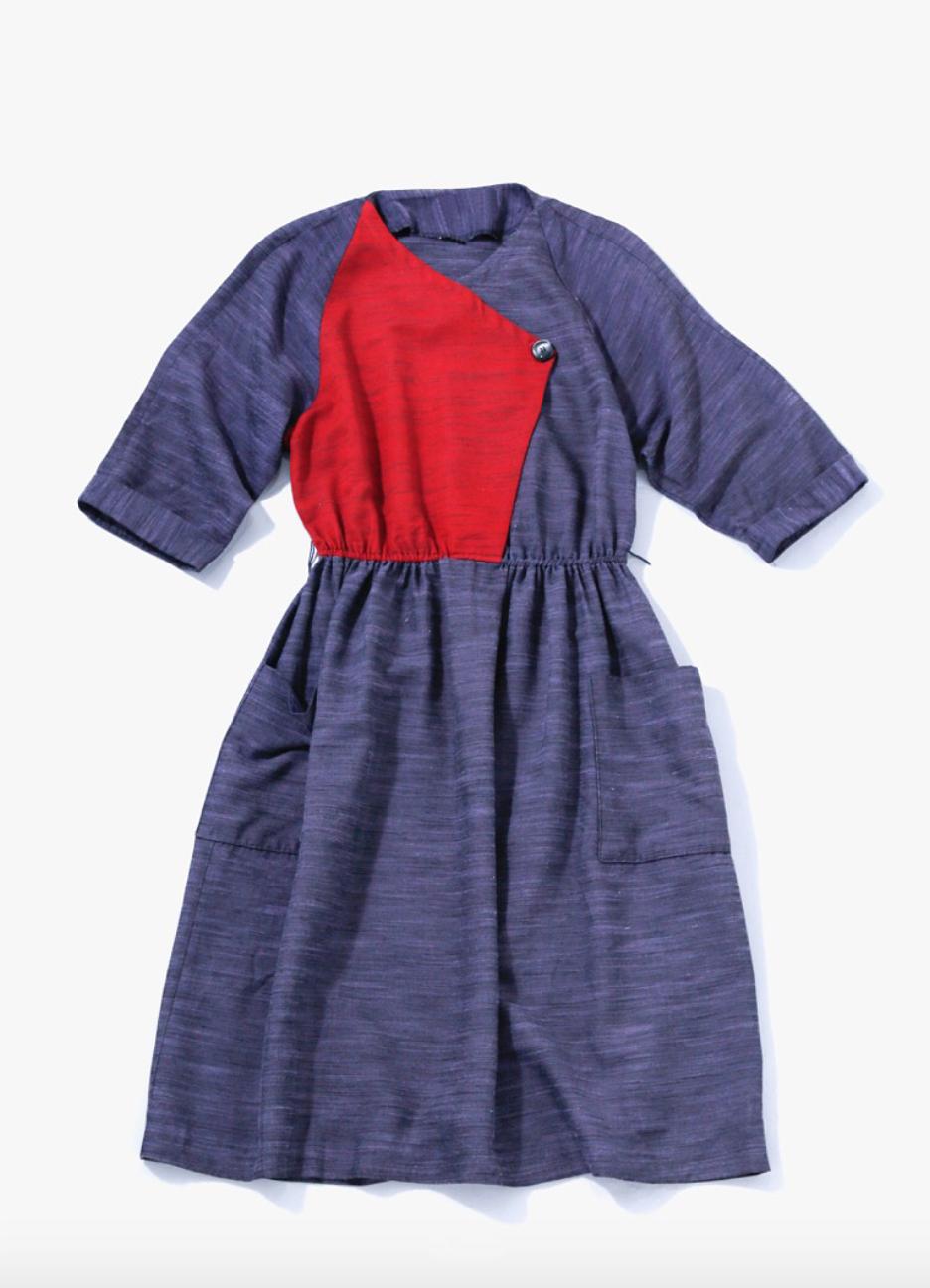 80's Summer Cotton Dress
