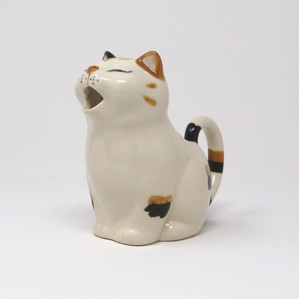 猫クリーマー(瀬戸焼ビクトリーカタログ)ミケ