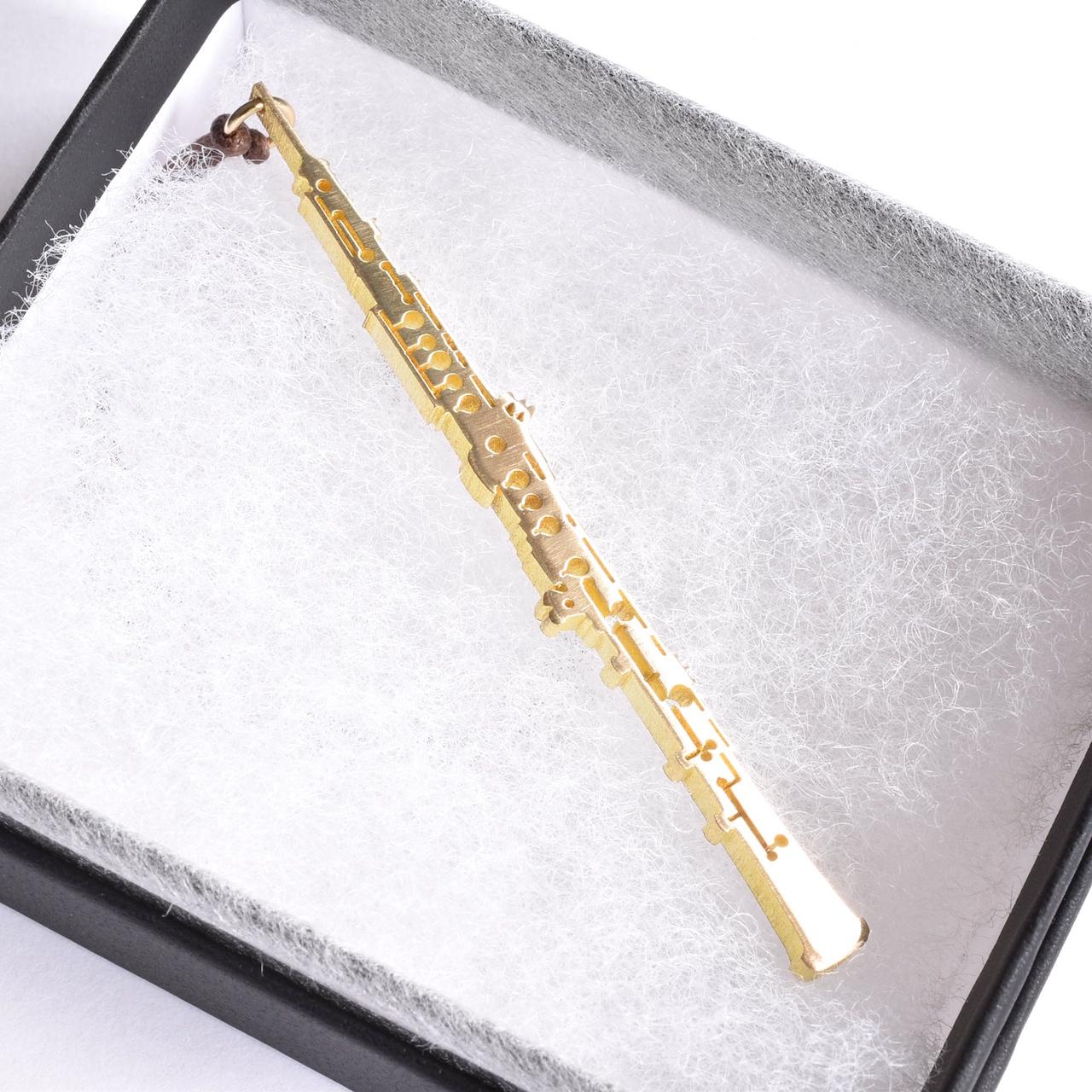オーボエ 2.0㎜(M)  真鍮楽器チャーム