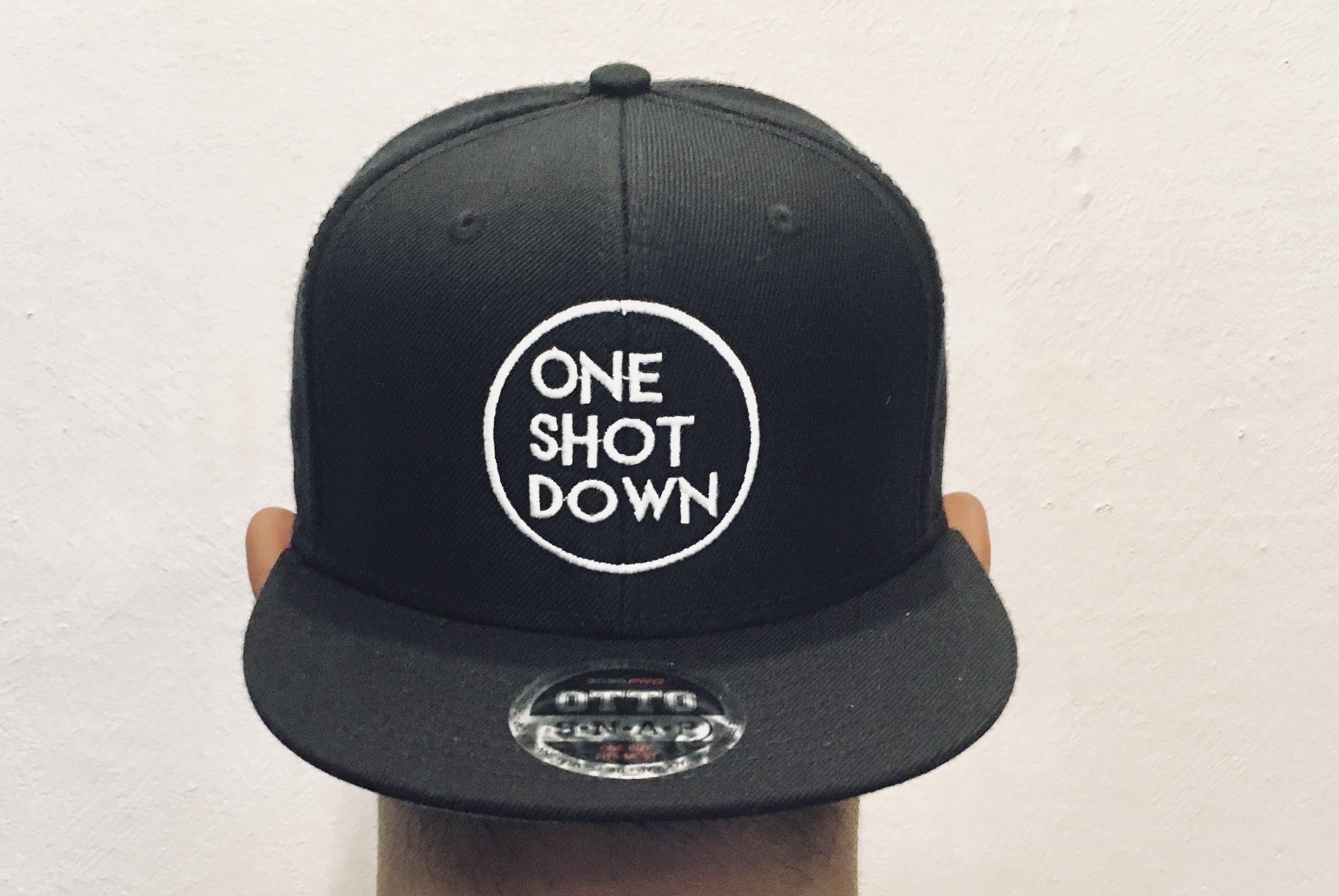 ONESHOTDOWN サークルロゴ CAP - 画像2