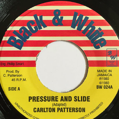 Carlton Patterson(カールトンパターソン) - Pressure And Slide【7inch】