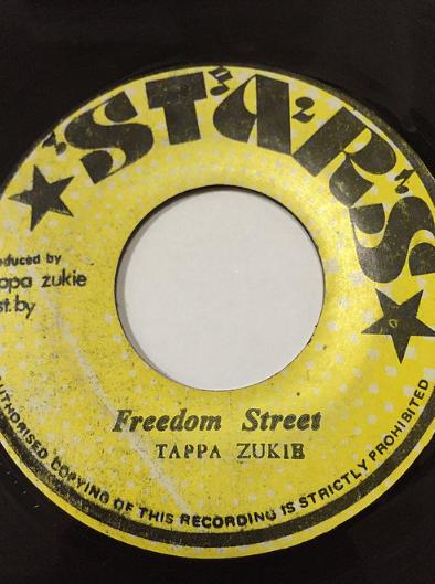 Tappa Zukie(タッパズッキー) - Freedom Street【7'】 SKU: 10040