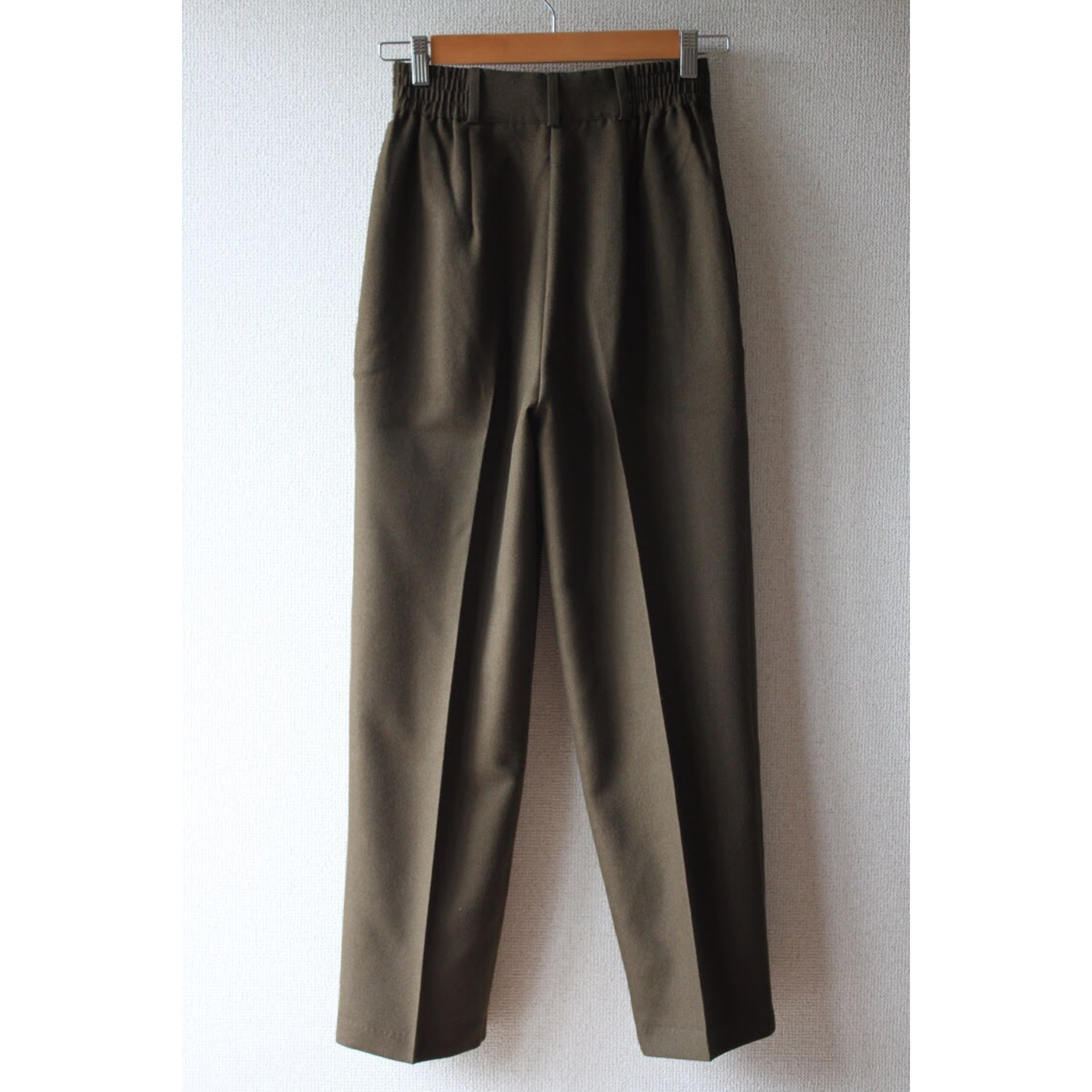 Vintage three tuck slacks