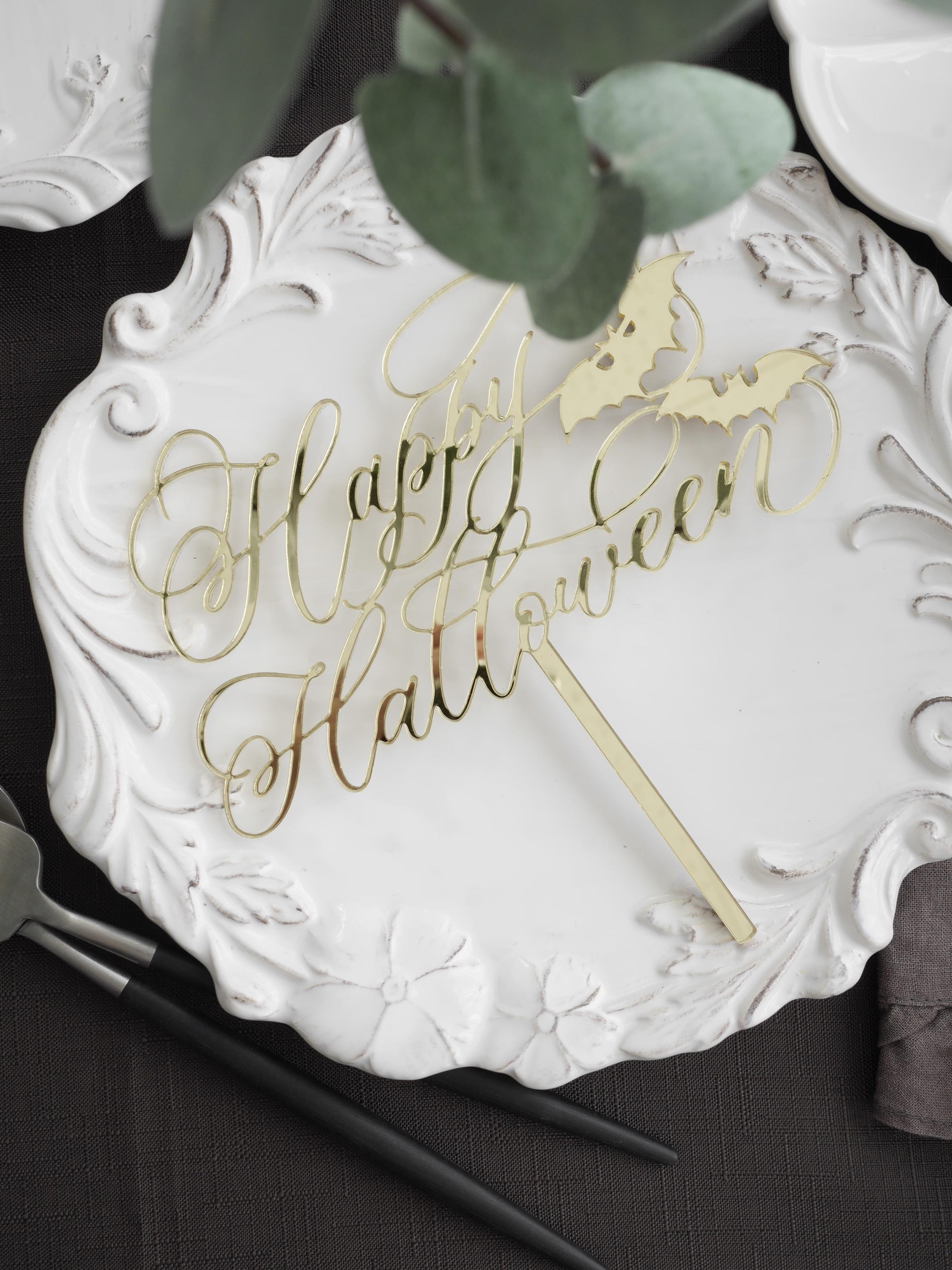 Halloween オリジナルケーキトッパー