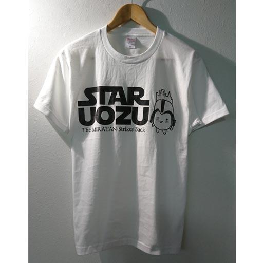 STAR UOZU & ミラたん コラボTシャツ ホワイト