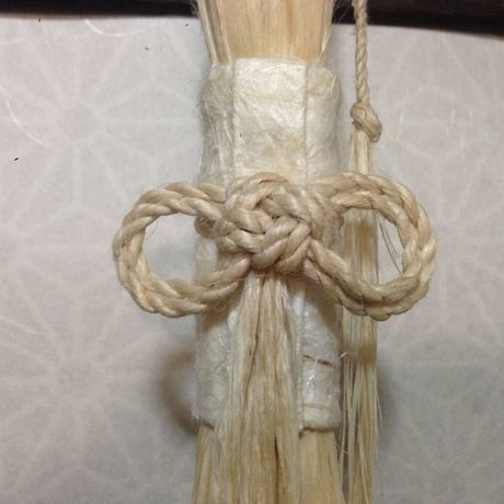 大麻飾り(小)  二重叶い結び