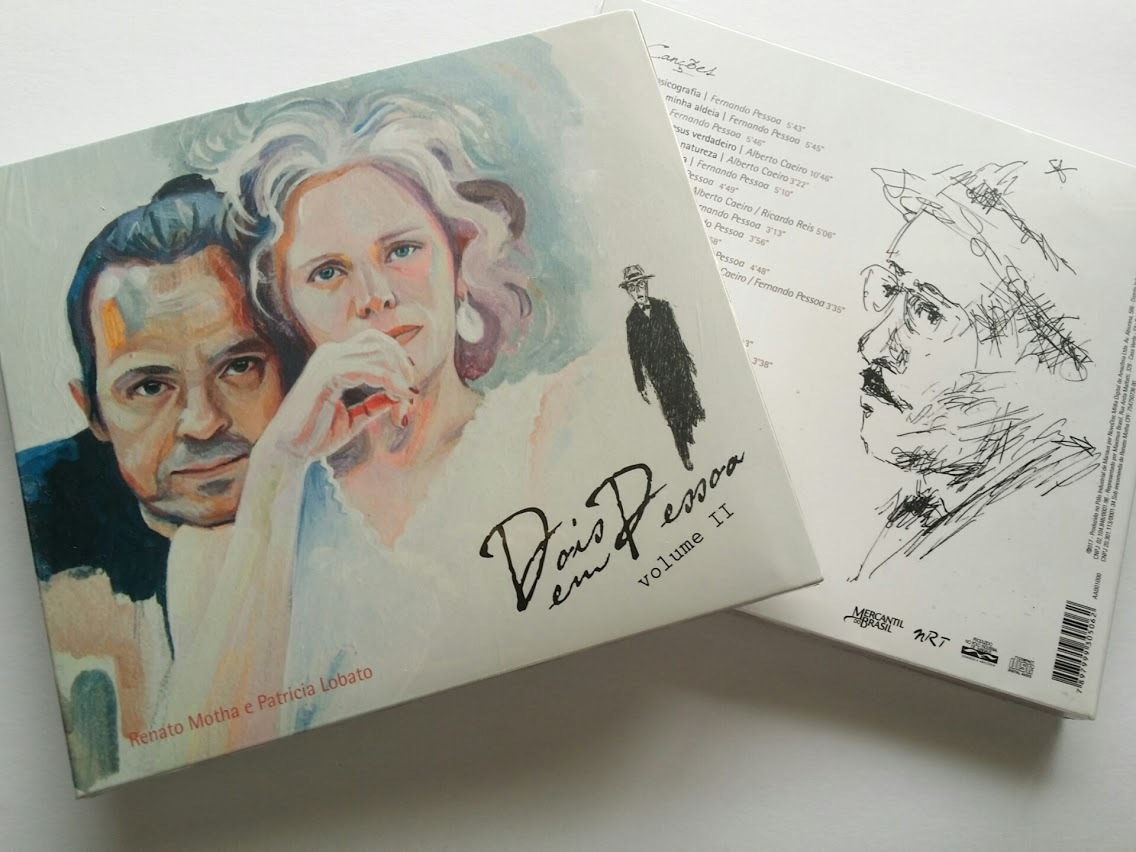Ranato Motha e Patricia Lobato ヘナート・モタ & パトリシア・ロバート『Dois em Pessoa volume Ⅱ』(Independent)