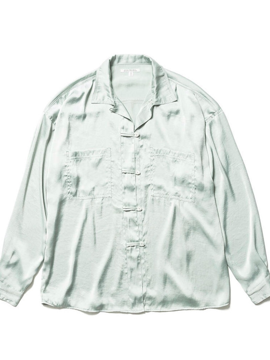 【FILL THE BILL】SATIN CHINA SHIRTS
