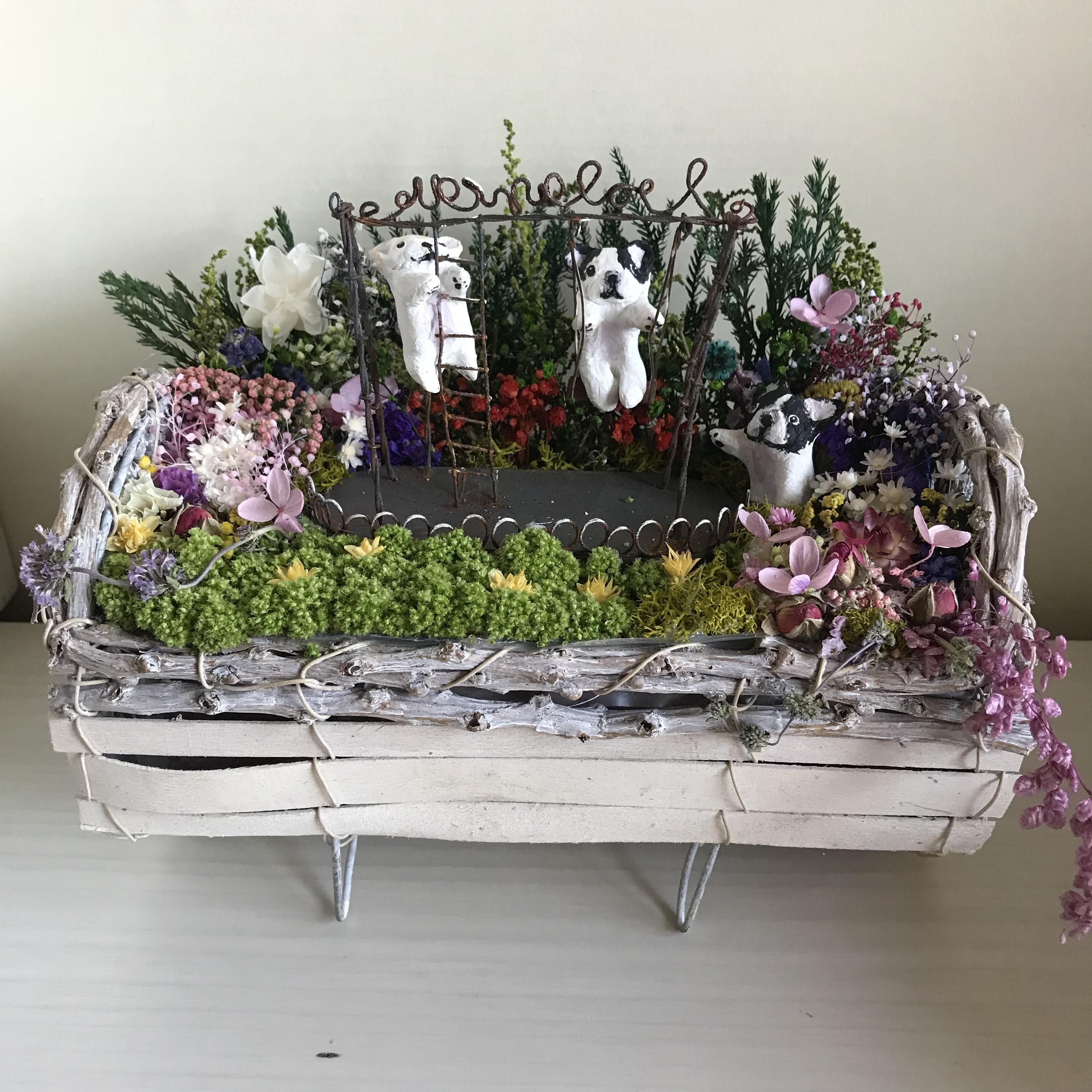 M様オーダー品(秘密の花園のブランコBUHI+絵本セット)M様のみご購入頂けます。