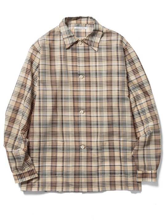 【FILL THE BILL】SHEER CHECK SHIRTS